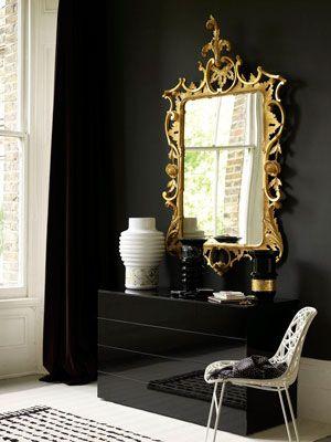 Espelho veneziano decorado