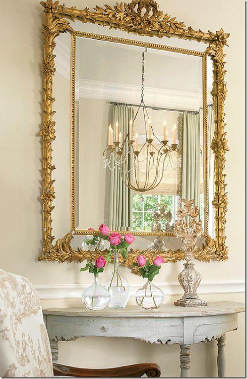 Decoração Espelhos venezianos