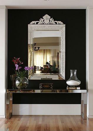 Decoração com Espelhos venezianos