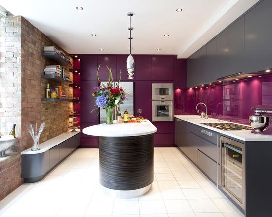 Cozinha em L decorada