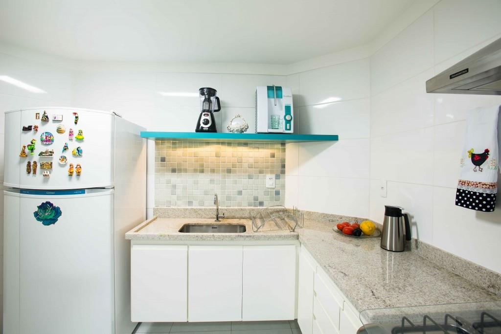 Cozinha em L simples
