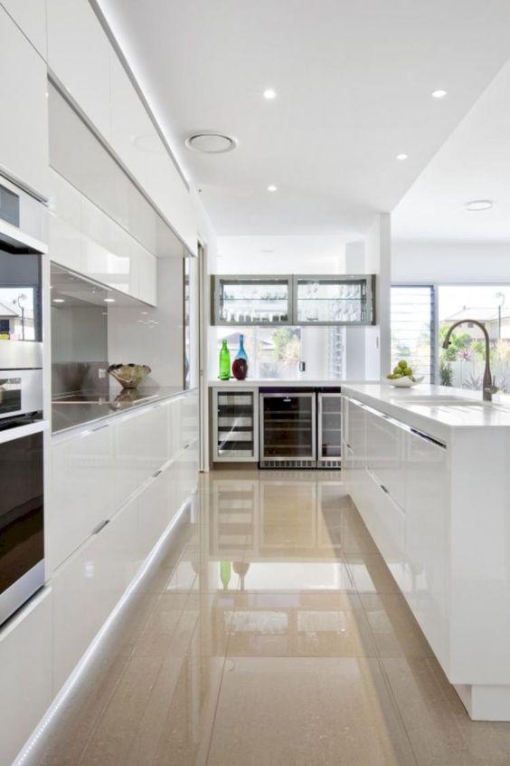 fotos de Cozinhas em L