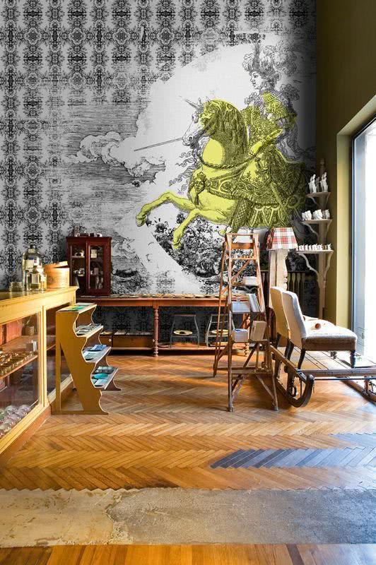 ambientes decorados com grafite na parede dicas