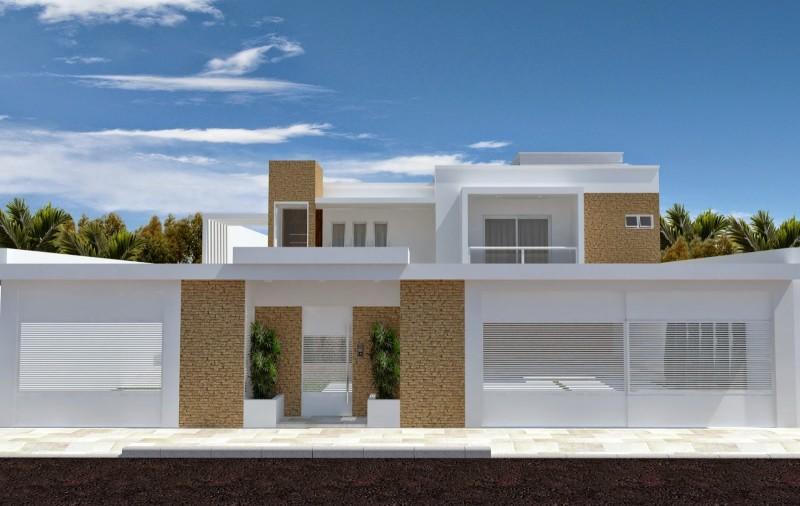 muros residenciais gigantes