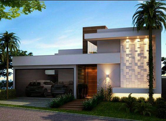 muros residenciais moderno