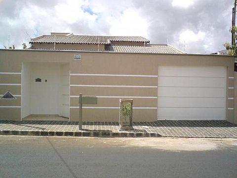 muros residenciais simples