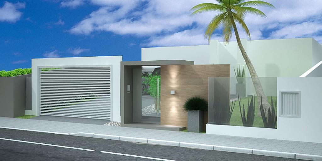 muros residenciais super modernos