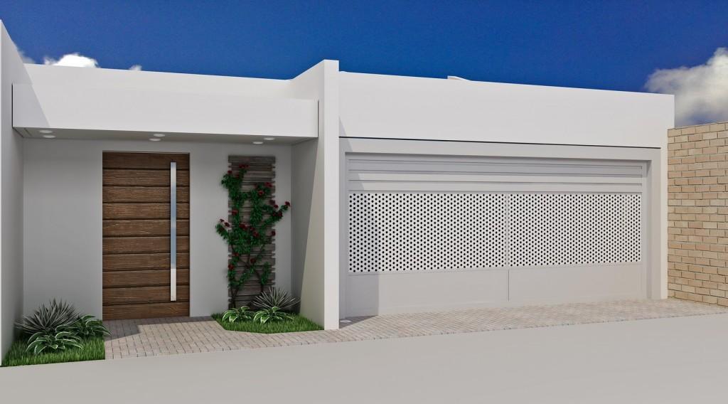 projetos de muros residenciais