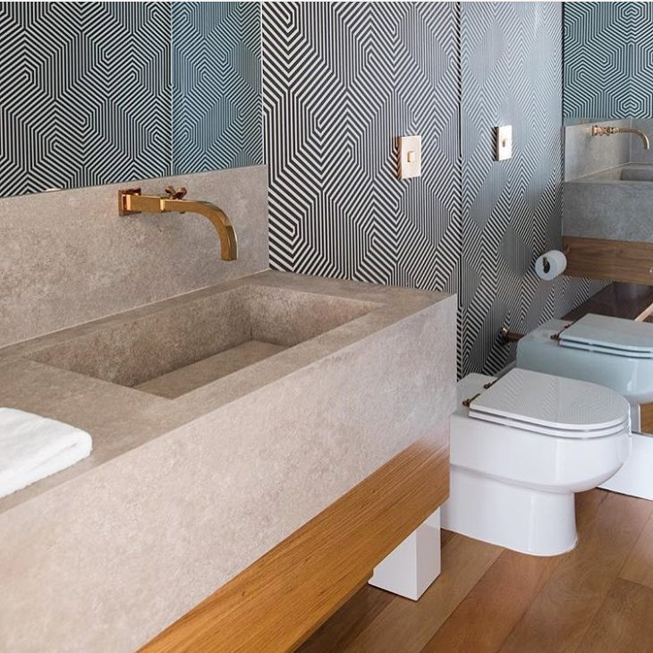 Papel de parede para banheiro